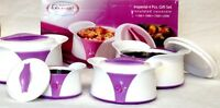 Hot Pot Double Layer Plastic and Stainless Steel Thermos Food Storage Container