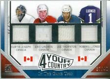 2015 ITG Used 4 Your Country JOSEPH LINDROS THORNTON LUONGO #37/40