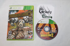 USED Borderlands 2 XBOX 360 (NTSC) Tested and Working!
