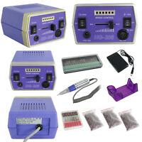30000RPM Pro Manicure Tool Pedicure Electric Drill File Nail Art Machine Kit Set