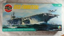 Airfix Rare Vintage, 1/600 U.S.S. FORRESTAL Super Carrier Detail, Huge Box, NEW