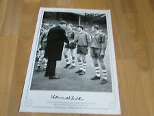 Howard KENDALL Preston North End 1964 Hand Signed AUTOGRAPHED Editions LE Print