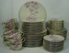 MEITO (F & B Japan) china PINK RADIANCE pattern 84 piece Set - Service for 12