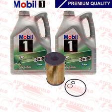 pour BMW M5 F10 HUILE MOTEUR Kit Filtre Set 10L Mobil 1 HUILE 0W-40 S63 B44 B