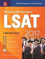 McGraw-Hill Education LSAT 2017 (McGraw-Hill's LSAT)