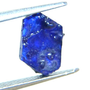 REAL-GEMS Natural Sapphire Gemstone Specimen Raw Material 81.50 Ct Natural Untreated Sapphire Rough Crystal Loose Gemstone