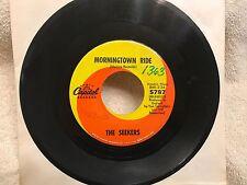 "The SEEKERS-RARE Original 45-""Morningtown Ride""-Capitol Records-1967-NM"