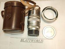 Summarex  8.5cm Ernst  LEITZ Leica Wetzlar 85mm F1.5 Lens M39 screw bayonet feet