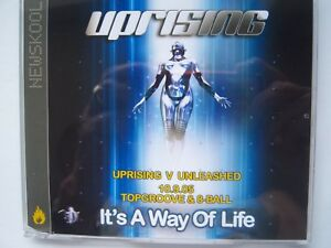UPRISING VERSUS UNLEASHED - 10.09.05 - TOPGROOVE & 8-BALL CD