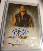 WWE Baron Corbin 2016 Topps Undisputed On Card Autograph SN 34 of 299