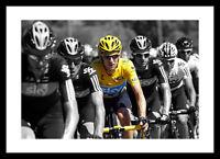 Bradley Wiggins 2012 Tour de France Spot Colour Photo Memorabilia (SPOT234)