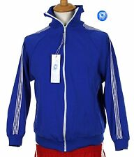 80er Mode Sportbekleidung 70er Trainingsjacke Retro Vintage Track Top Oldschool