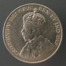 George V Five Cents Nickel 1924