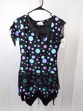Blue Fun Dot Monster Teen Girl's Halloween Costume Juniors 0-9 Dress Only #5364