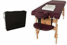 NO TAX! NEW Ironman 30-Inch Astoria Massage Table with Heating Pad and Carry Bag