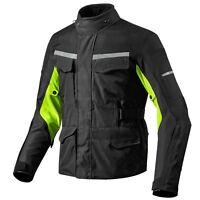Motorcycle Motorbike Mens Jacket Waterproof Textile Black Armoured
