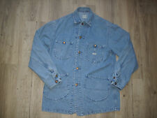 VINTAGE Lee LOCO Jacket Size: Medium Denim/ Engineer/ Barn/ Folk/ Coat RARE