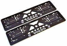 2x Kennzeichenhalter Nummernschildhalter 3D für VOLVO