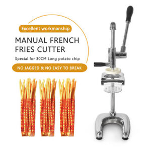 Manual 30CM Long French Fries Extruder Potato Chips Ricer Presser  Squeezers
