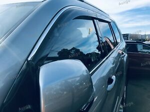 AUS Stainless Steel Weather Shields Weathershields for Great Wall HAVAL H9 15+ T