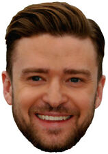 Justin Timberlake Sexy Singer & Actor Big Head - Window Cling Decal Sticker -New