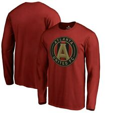 Atlanta United FC MLS Men's Soccer Shirt Long Sleeve  Size XL
