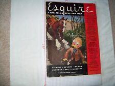 Esquire Magazine 4/34 George Petty fiction art pinups Fine Condition
