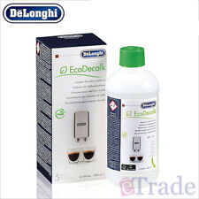 Genuine DeLonghi Descaler Cleaner Espresso Coffee Machine in 500ml - EcoDecalk