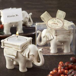 Elephant tea light candle holder wedding home decoration crafts tea light stBDA