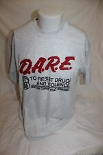 DARE to Resist Drugs and Violence Newton Township PD Men's Gray Shirt Size XL