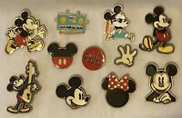 Disney Mickey Mouse Pins - Set of 11