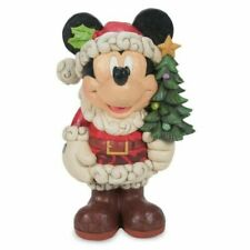 Christmas Greeter Mickey Mouse Old St. Mick 17 Inch (43 cm) Disney Decoration