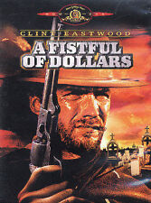 A Fistful of Dollars Western Legends Clint Eastwood NEW DVD