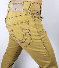 True Religion Men's Geno Slim Cable Stitch Jeans - MDAAX427V