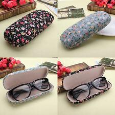 Sonnenbrille Hartschalenetui Brillenetui Brillenbox Damen Blumen Geschenk Mode.