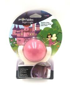 Projectables Fairy Princess LED Night Light Projector Dusk to Dawn Sensor NEW