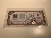 Bitcoin Suisse Certificate BSV - Like Casascius Lealana VERY RARE ONLY 149 MADE!
