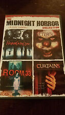 Midnight Horror Collection, 4 movies in 1 DVD Bloody Slashers collection