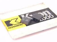 NEW SURPLUS 10PCS. KENNAMETAL  SNG 423  GRADE: KYON 2000  CERMET INSERTS