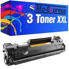 3x Toner-Kartusche XXL ProSerie für HP Laserjet P1103 Pro P1102 P1103 85A