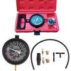 Car Fuel Pump & Vacuum Tester Gauge Leak Carburetor Valve Pressure Test Tool Kit