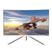 VIOTEK GN27DW 27Inch 144Hz Curved Gaming Monitor 1440p Samsung VA Panel FreeSync