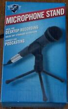 First Act Desktop Microphone Stand - Standard Microphone - BRAND NEW IN PACKAGE
