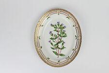 Flora Danica  Royal Copenhagen Denmark  oval dish plate platter 20 / 3516