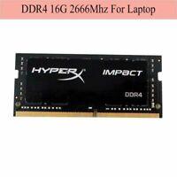 Für HyperX Impact 16GB 32GB 64GB DDR4 2666MHz PC4-21300 SODIMM Laptop RAM RHNDE