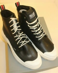 Palladium Men's pallakix  Black/White Boot Size 11 M BRAND NEW WITH BOX