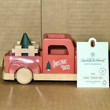Hearth and Hand with Magnolia Wooden Toy Truck & Tree Set