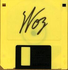 Steve Woz Wozniak SIGNED Vintage High Density Disk Apple Co-Founder AUTOGRAPHED