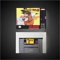 Dragon Ball Z - Super Saiya Densetsu - US pal Version SNES SUPER NINTENDO WITH
