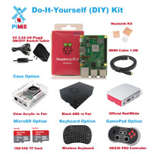 New Raspberry Pi 3 Model B+ B plus Do-It-Yourself (DIY) Kit US Seller